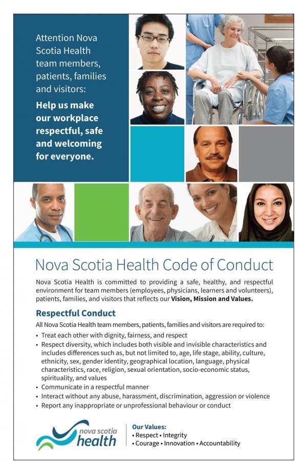 NSH Code of Conduct