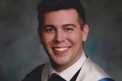 Kevin Acheson is a registered nurse (RN) on the surgical unit of Yarmouth Regional Hospital (grad photo submitted).