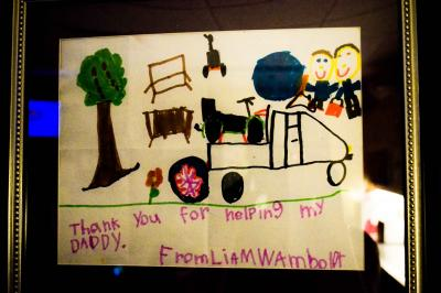 Liam's Thank You Card