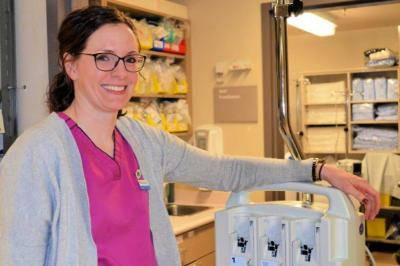 Halifax Infirmary charge nurse Kendra McCarthy has been named at Patient Safety Champion.