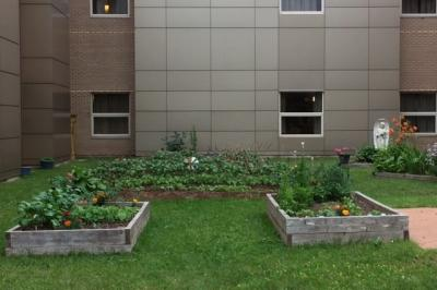 Gardens at the Cumberland Regional Health Care Centre.