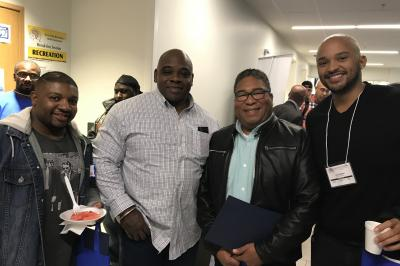 The Black Men's Conference was organized by Nova Scotia Brotherhood's Men's Health League.
