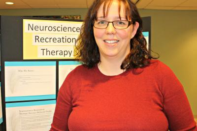Andrea King is a recreation therapist in neurology and neurosurgery at the Halifax Infirmary (Kristen Lipscombe/NSHA).