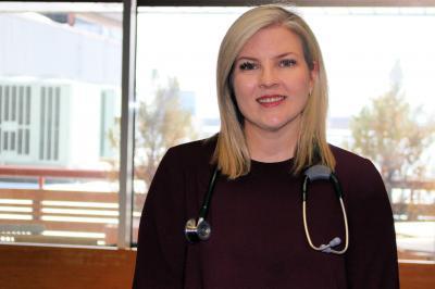 Dr. Christina Morgan is a hospitalist at Dartmouth General Hospital.