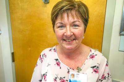 Evelyn Doyle is a continuing care coordinator in Cheticamp (Contributed).