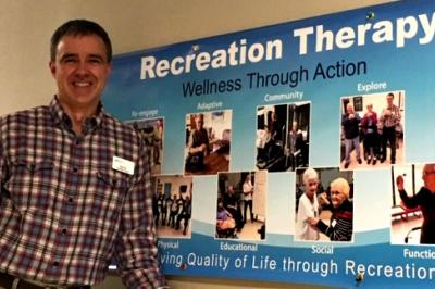 Harbourview Hospital recreational therapist Kevin Stairs has been named a Pateint Safety Champion (Contributed/NSHA).