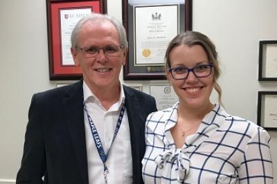 Dr. Elwood MacMullin and Dr. Gillian MacMullin
