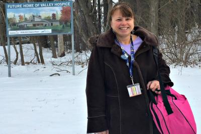 Palliative care consultation nurse Katrina Patterson can't wait to see the Valle Hospice open its doors to the community (Contributed/NSHA).
