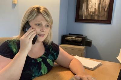Social worker Loralee Smith said making the phone calls got her her thinking about what else can be done to reach out and support people right now?