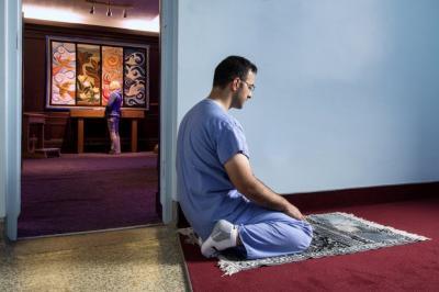 Prayer at NSHA