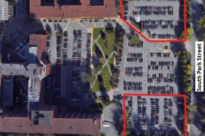 Designated parking area