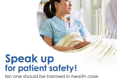 Tuesday, Sept. 17 marks the inaugural World Patient Safety Day (World Health Organization).