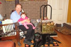 Heather Abriel enjoying life as a grandmother.