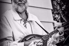 David Abriel and his mandolin.