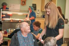 """""""I know all of the patients by name and was able to lead the group exercises and do many individual exercises with patients. Saying goodbye to all the patients was hard because I really bonded with them and it was sad leaving."""""""