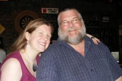 David Abriel with daughter Katie Abriel.