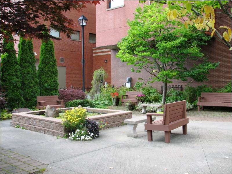 Healing Garden Cape Breton Cancer Centre, Sydney